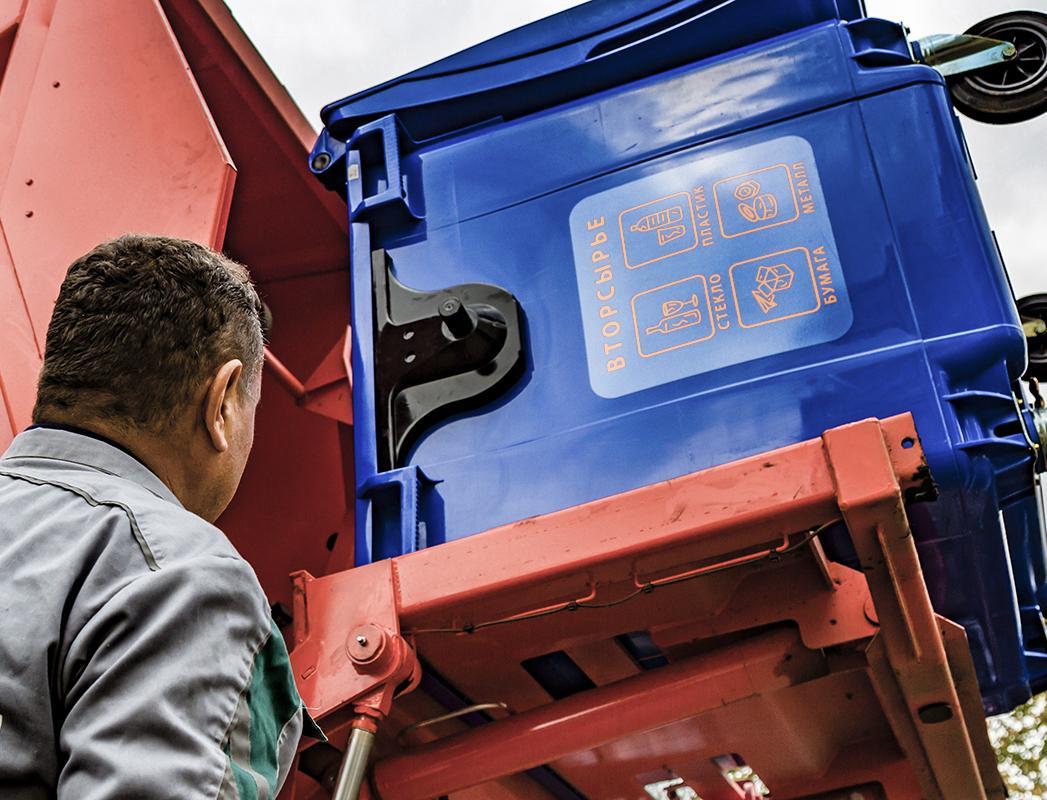 Более 22 тысяч контейнерных площадок в Москве готовы к раздельному сбору мусора
