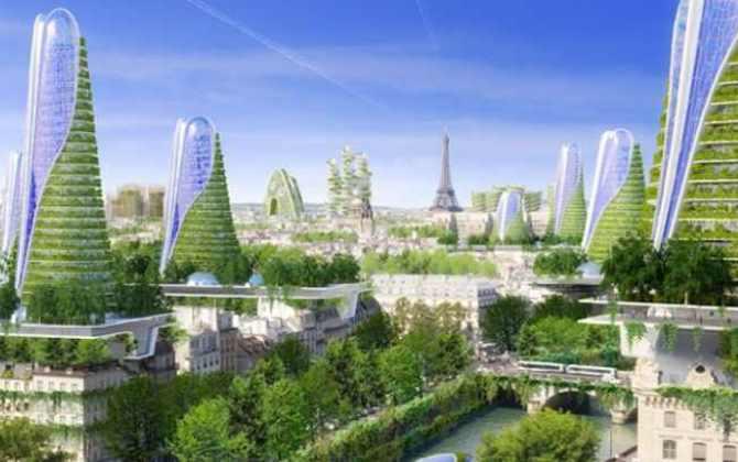 Париж к 2050 году может стать экополисом
