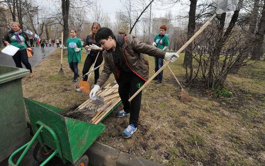 В Москве пройдет субботник с раздельным сбором мусора