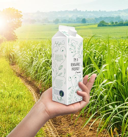 Tetra Pak представила упаковку из растительных полимеров