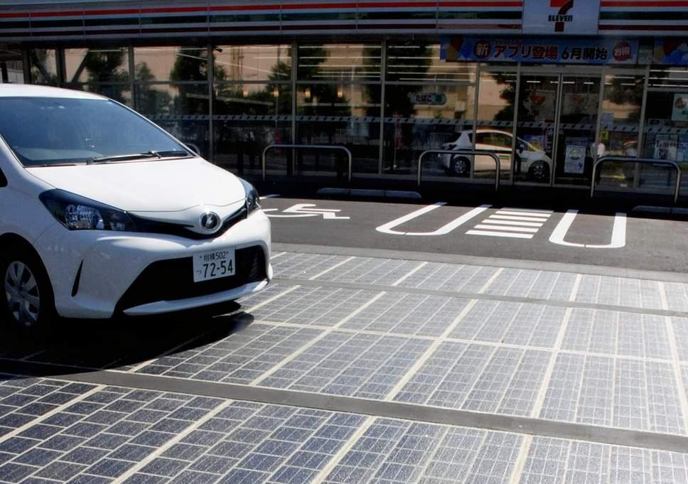 Дороги на солнечных батареях построят к Олимпийским играм в Токио