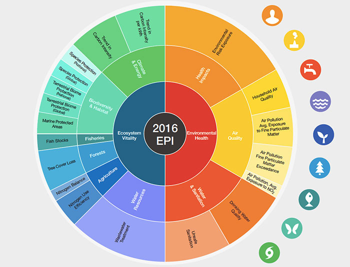 Россия поднялась с 73 на 32 место в рейтинге экологичности
