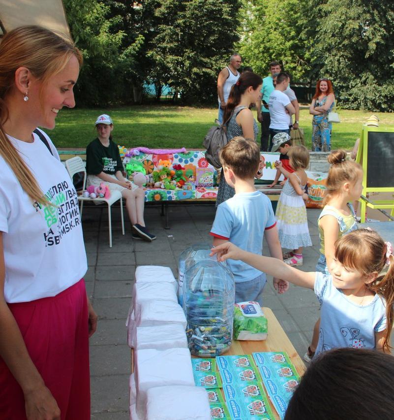 Праздники «Экодвор» объединят соседей для раздельного сбора отходов