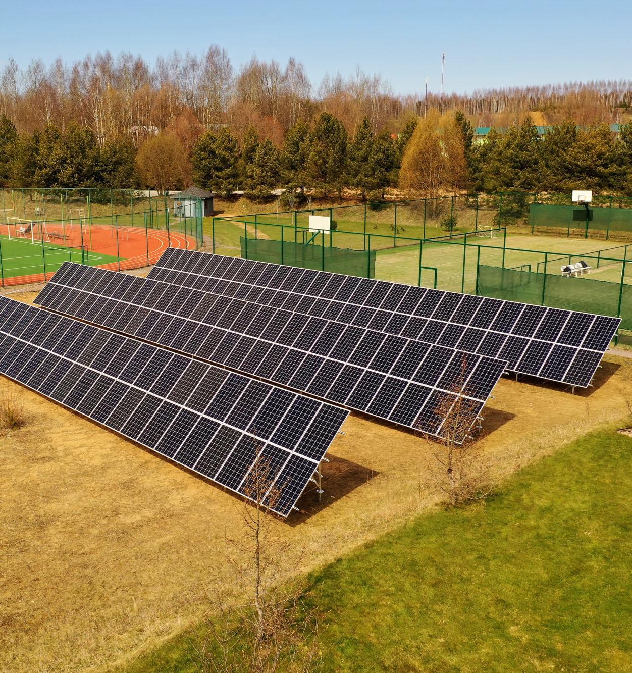 Запущена самая мощная солнечная электростанция в Москве и Московской области