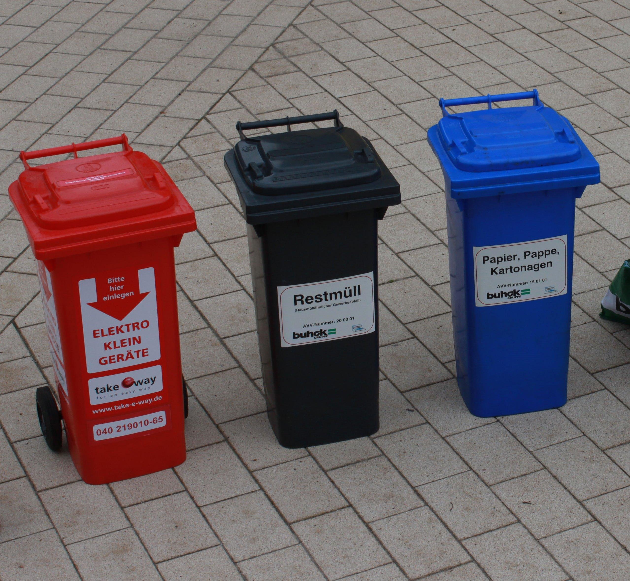 В интернете появится карта пунктов раздельного сбора мусора