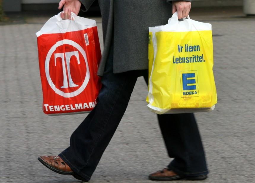 Полиэтиленовые пакеты в Германии станут платными
