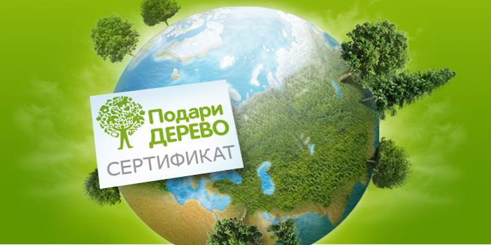 Проект «Подари-дерево.рф» подарит деревья участникам «ЭкоГородЭкспо 2014»