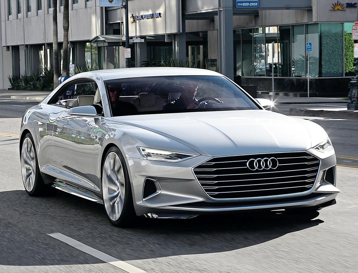Audi разрабатывает электрический седан