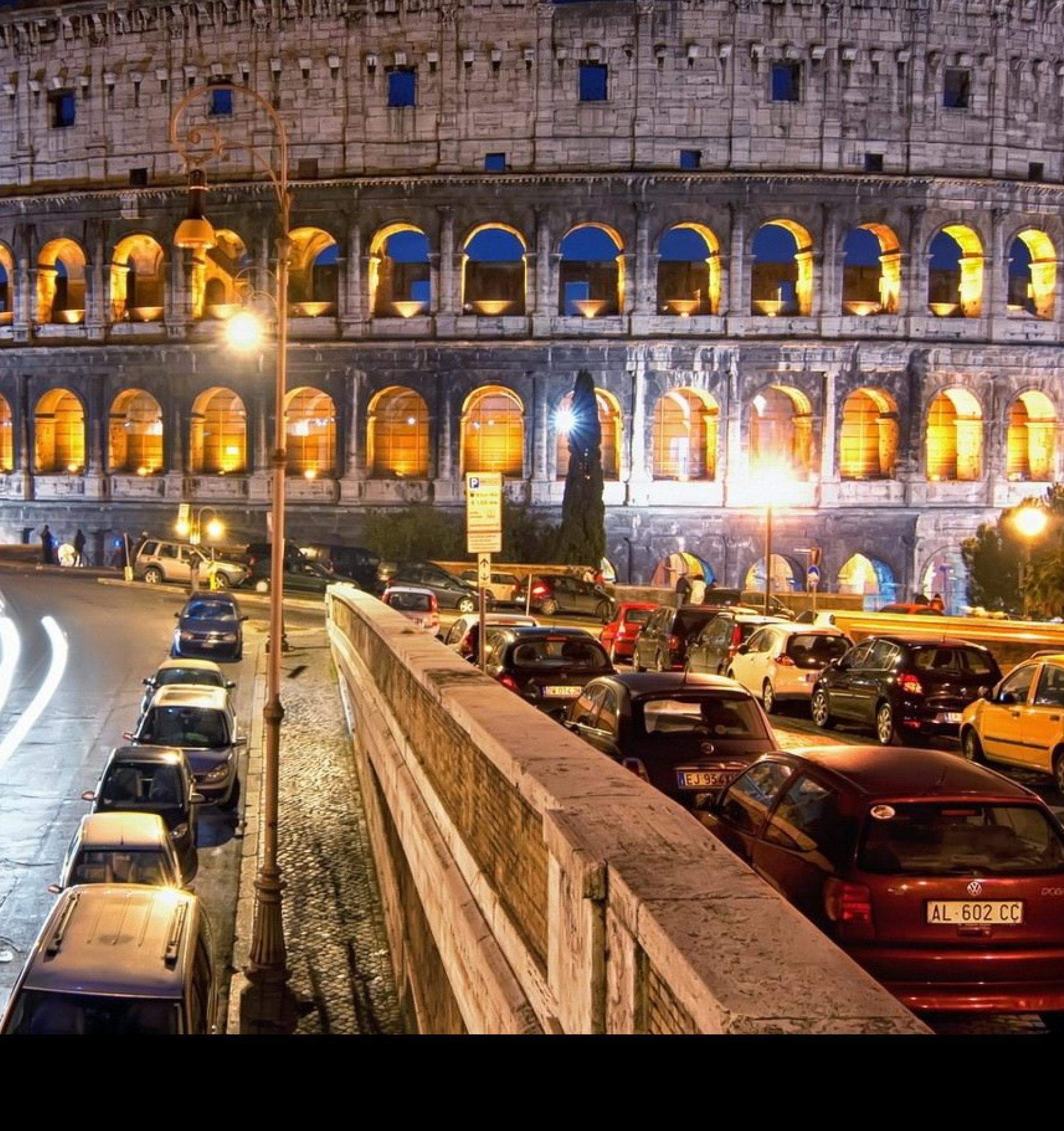 В Риме запретят дизельный транспорт в час пик