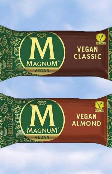 Magnum выпустит мороженое для веганов