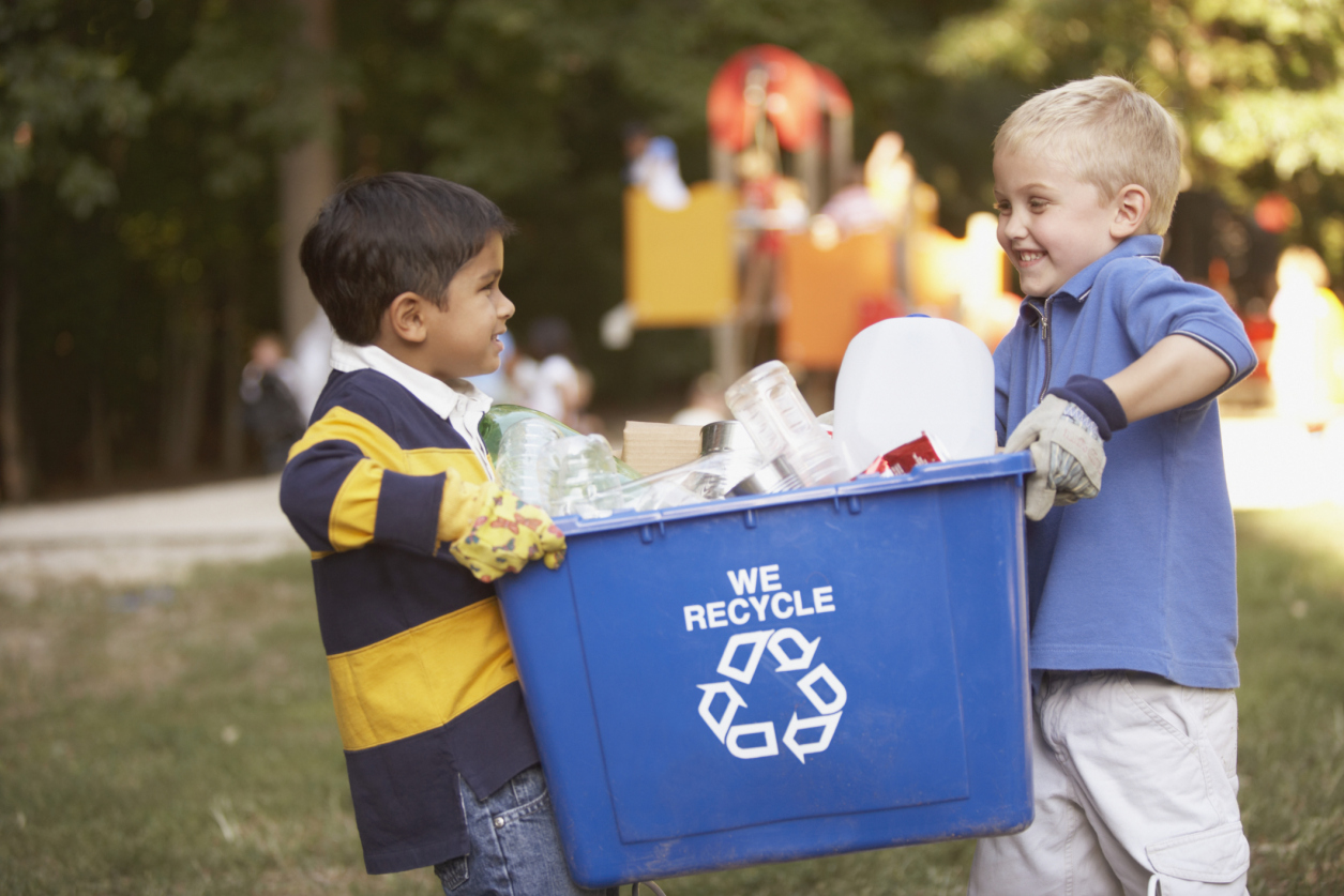 Как организовать раздельный сбор мусора в своей школе