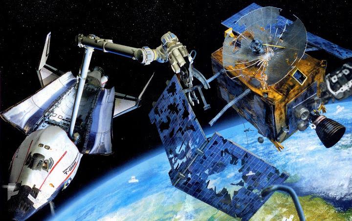 Россия уберет космический мусор за 10,8 млрд рублей