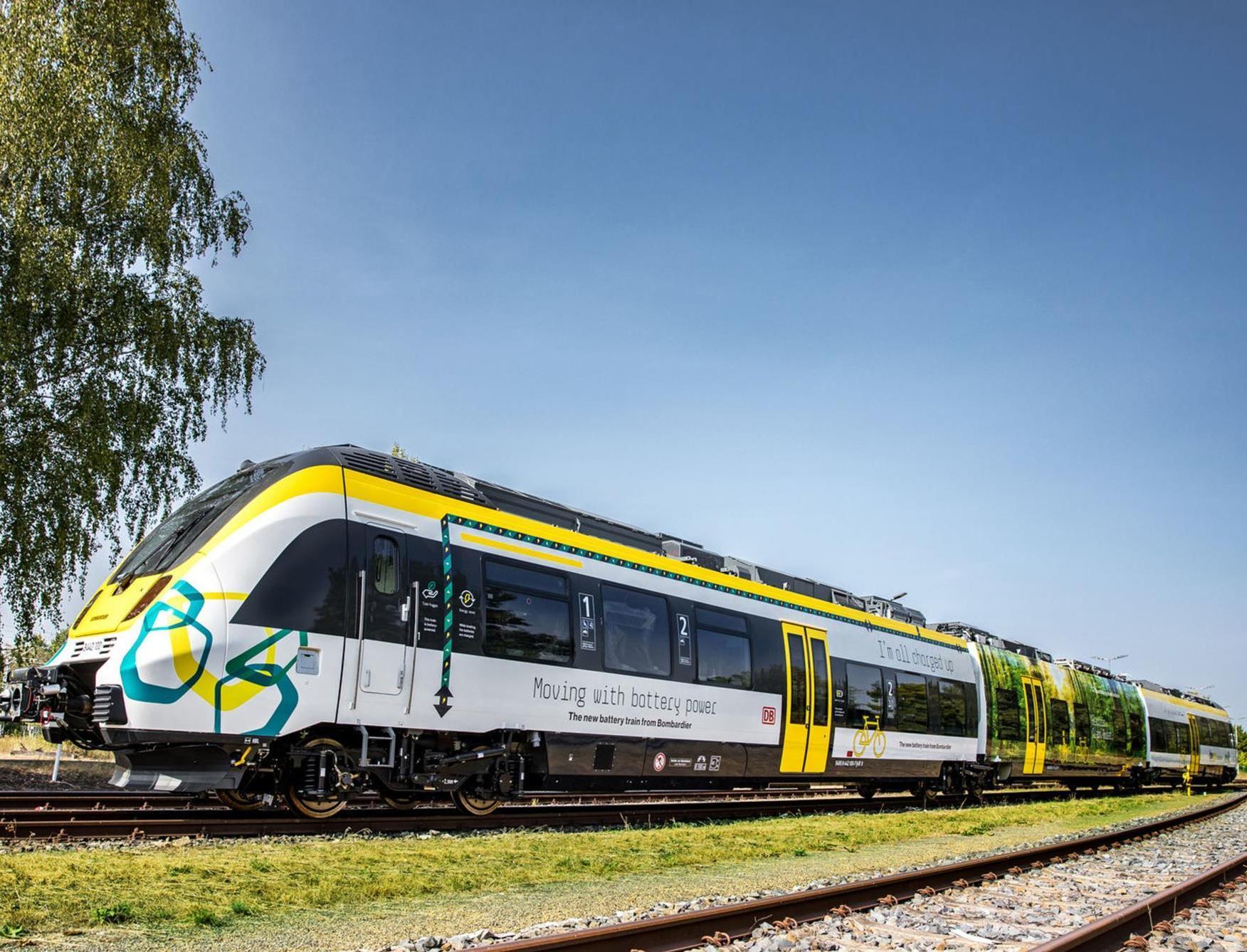 В Дании будут ходить поезда на аккумуляторных батареях