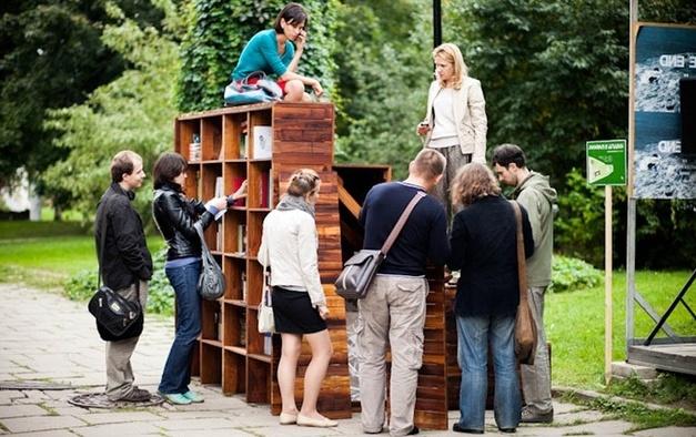 Проект «Книги в парках» нуждается в книгах
