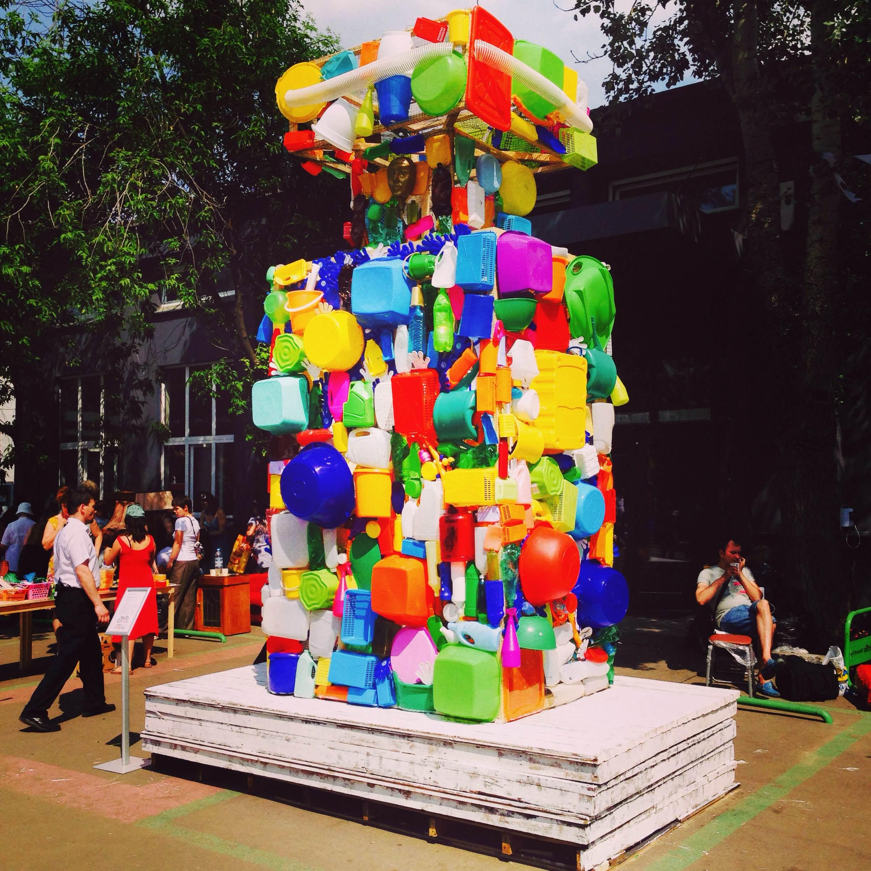 Instagram дня: Flacon №5 из пластика на дизайн-заводе «Флакон»