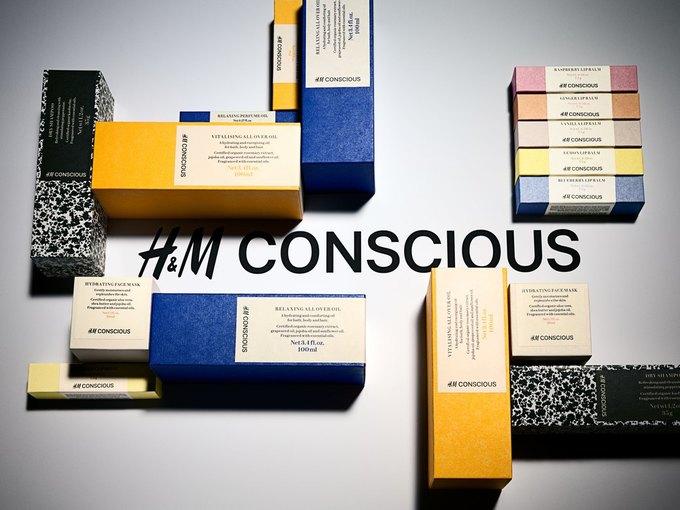 H&M запустит линию органической косметики