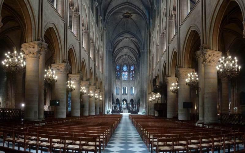 Собор Парижской Богоматери перевели на светодиодное освещение