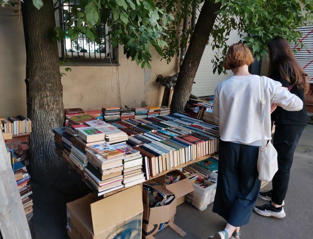 Книжный магазин «Ходасевич» принимает ненужные книги, журналы и учебники