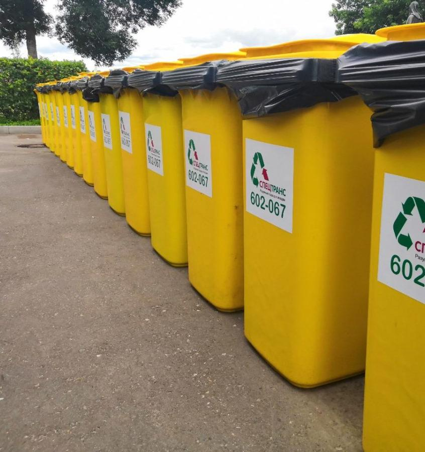 Во Владимире исчезли контейнеры для раздельного сбора мусора