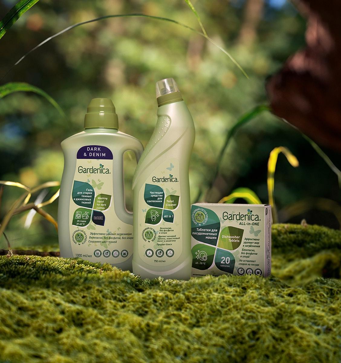 «Магнит» запустил собственный экологичный бренд бытовой химии Gardenica