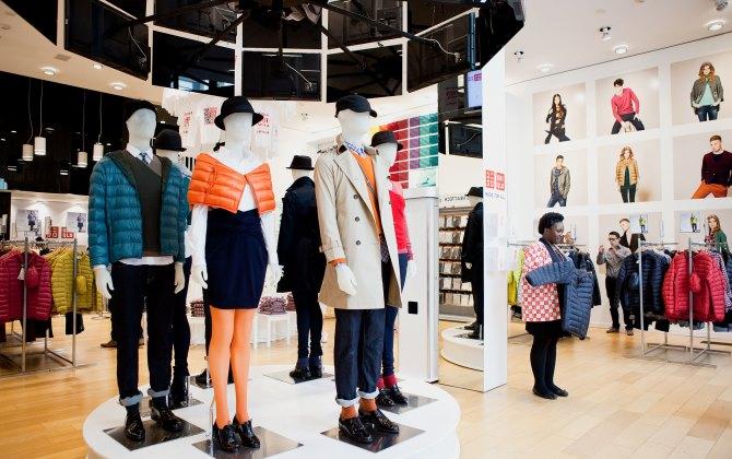 В магазинах Uniqlo принимают ношеную одежду