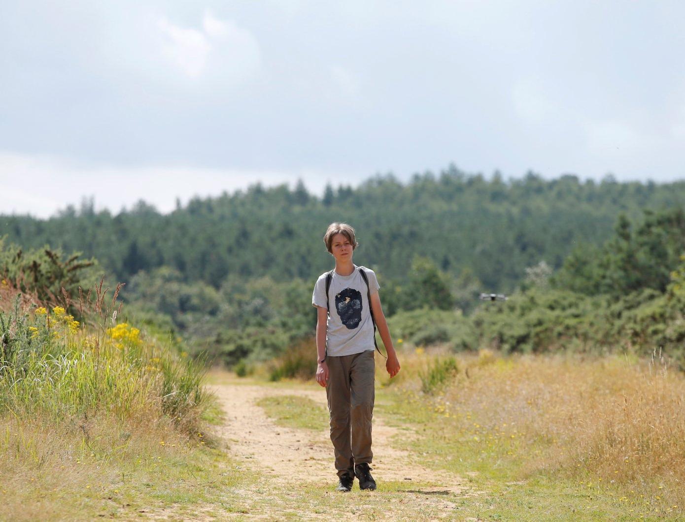 11-летний англичанин отправился в пеший поход, чтобы привлечь внимание к проблемам экологии