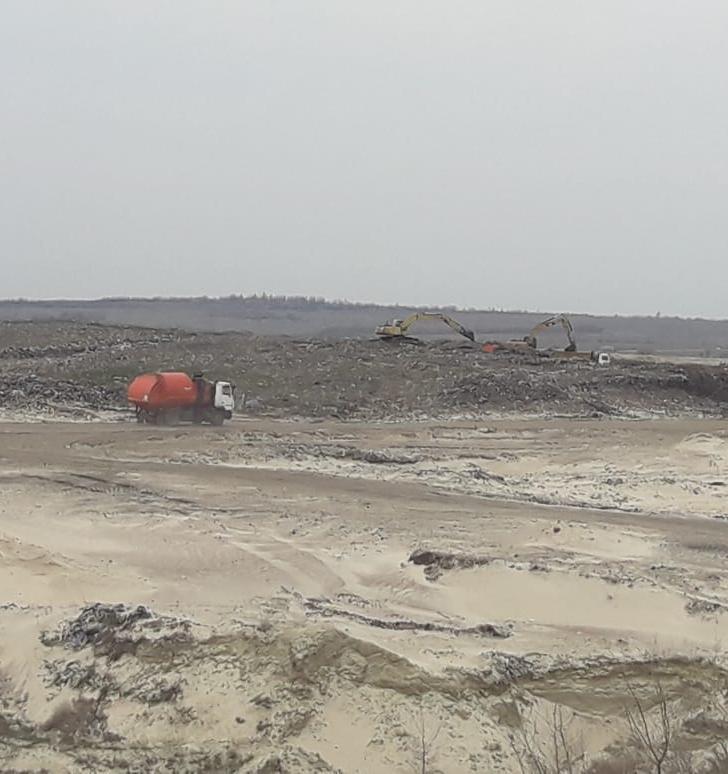 В Волгоградской области продолжается наступление на свалки