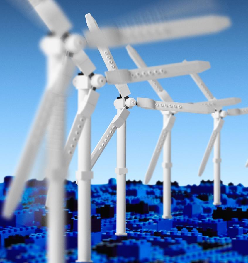 LEGO полностью перешла на возобновляемую энергетику