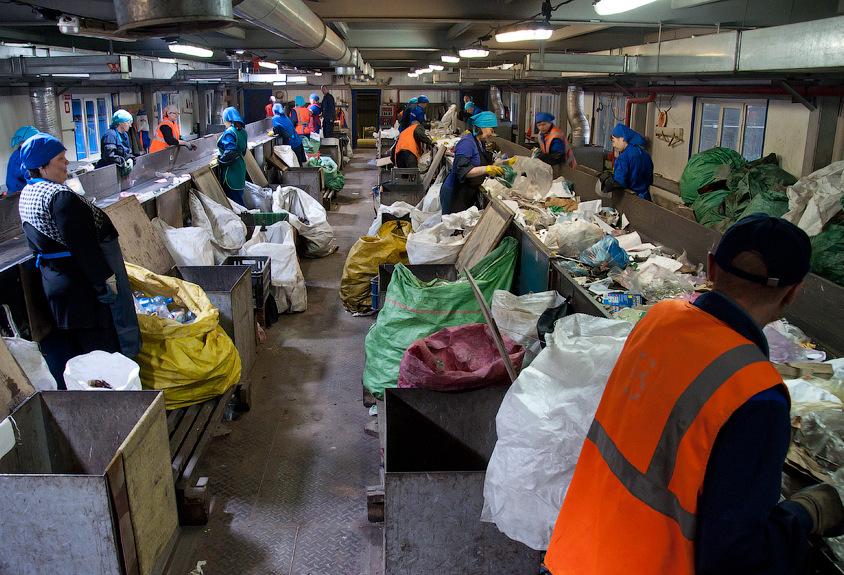 На Кавказе заработал первый завод по сортировке мусора