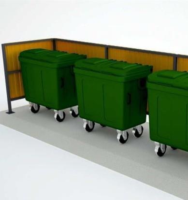 Мэрия Томска выбрала дешевые контейнерные площадки для раздельного сбора