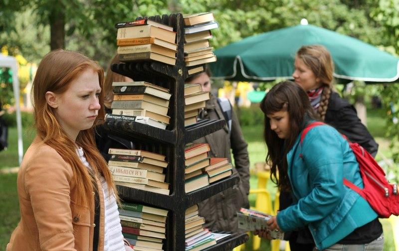 В Санкт-Петербурге пройдет книговорот с мастер-классами и экоиграми