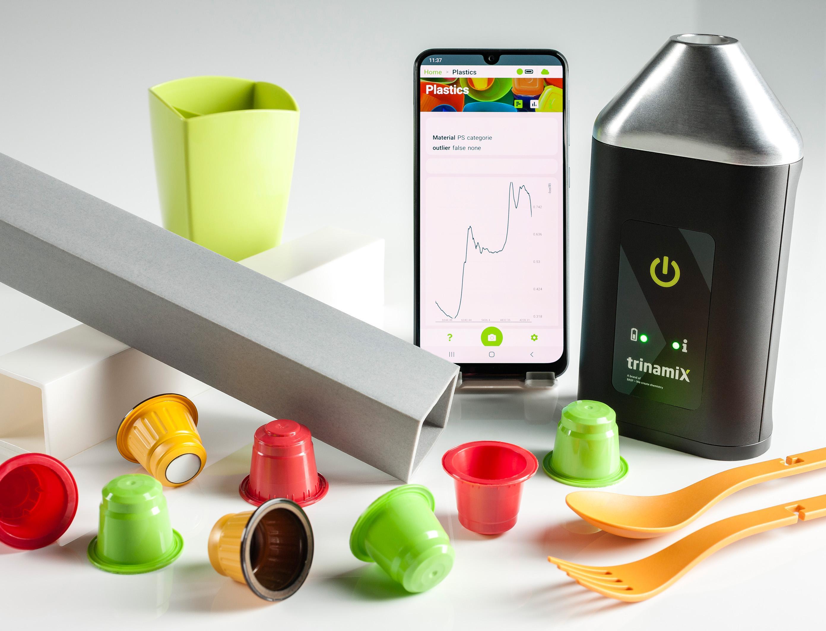 Мобильное приложение упростит процесс сортировки пластика