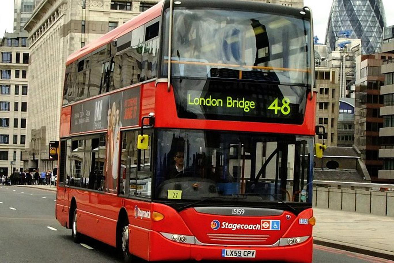 Лондонские автобусы перейдут на экологичное топливо