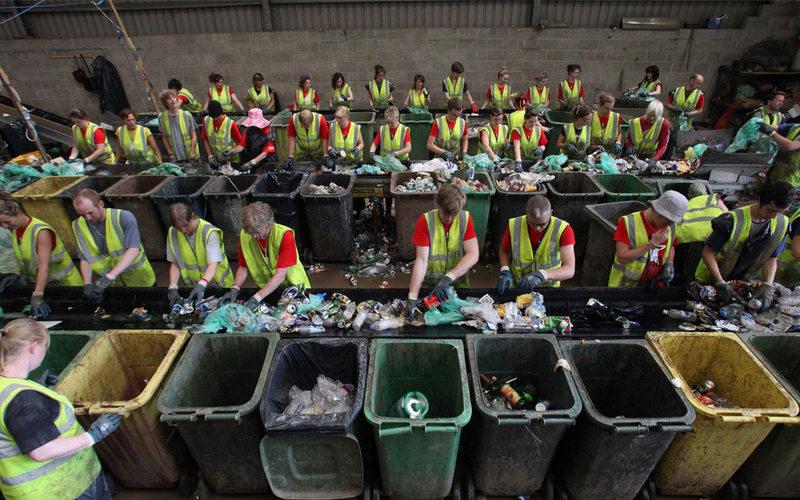 Власти рассмотрят поправки в закон о раздельном сборе мусора