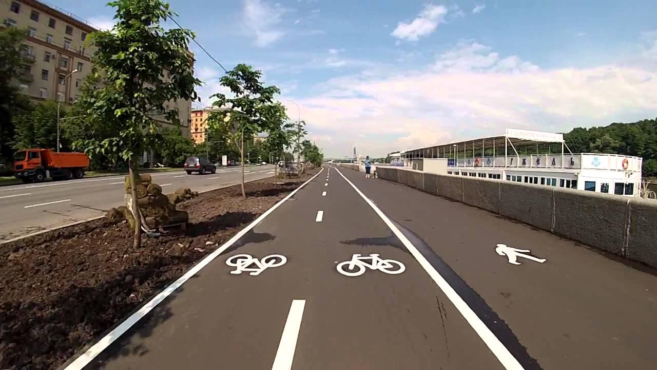 В Москве откроют 195 км велодорожек и более 400 велостоянок