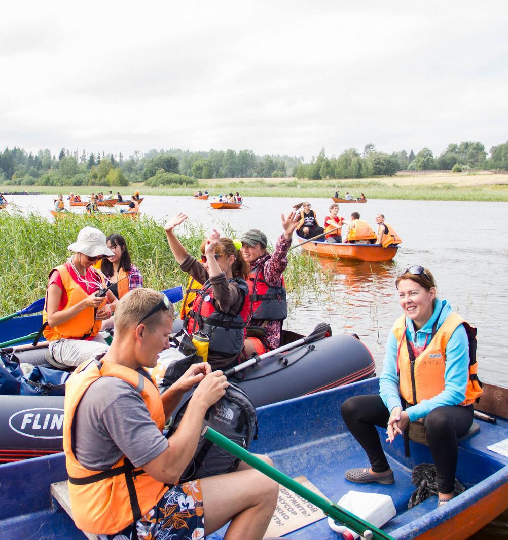 Волонтеры проекта «Чистая Вуокса»: как совместить отдых с заботой об окружающей среде