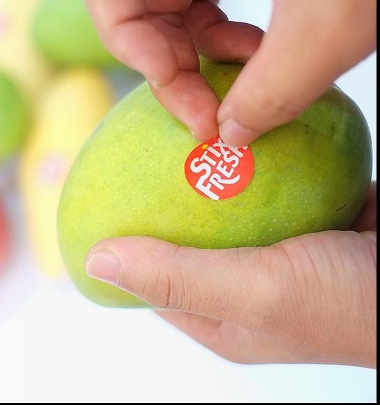 Специальные наклейки для фруктов сократят количество пищевых отходов