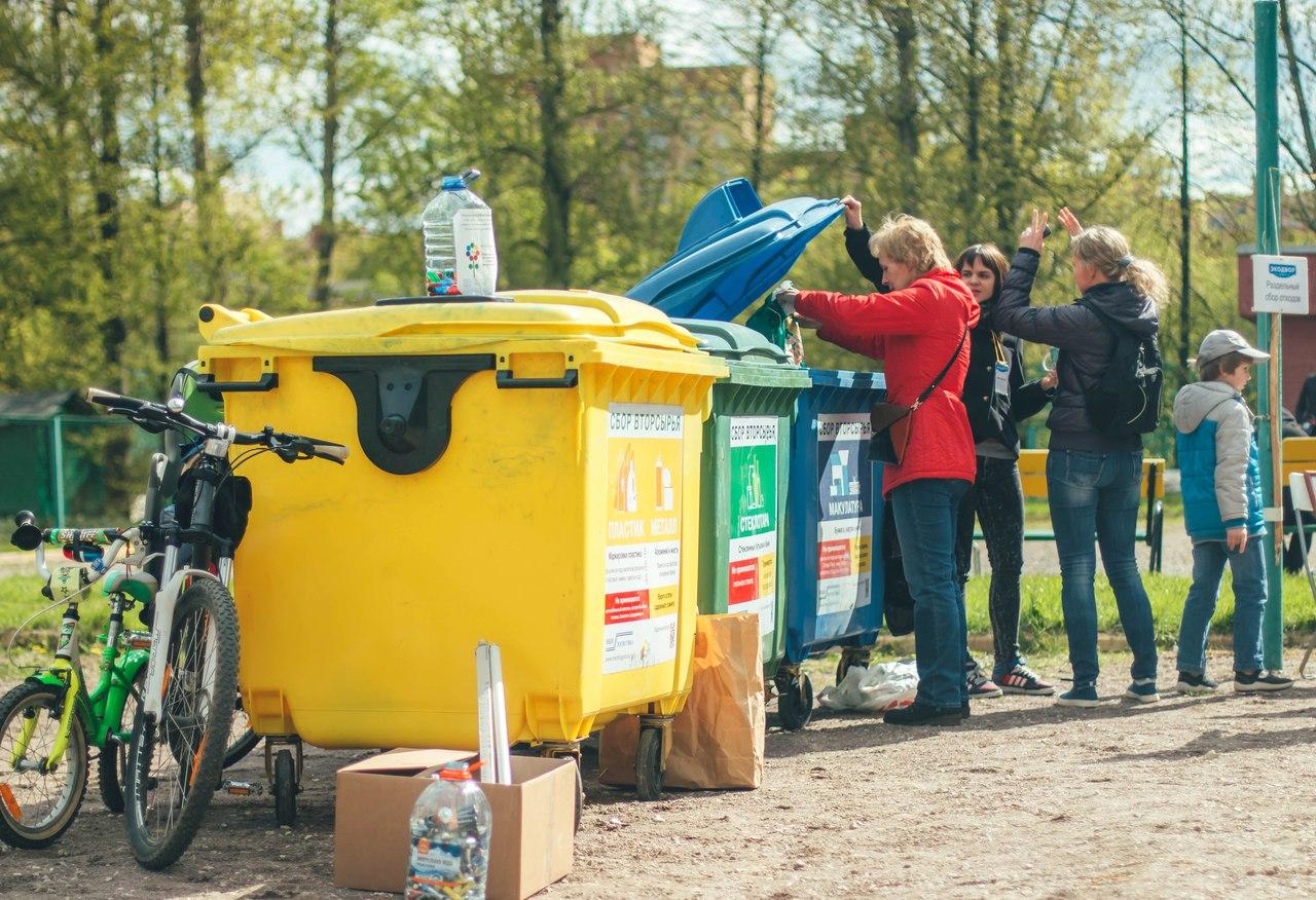 На акции в Подмосковье можно будет сдать макулатуру, пластик и стекло