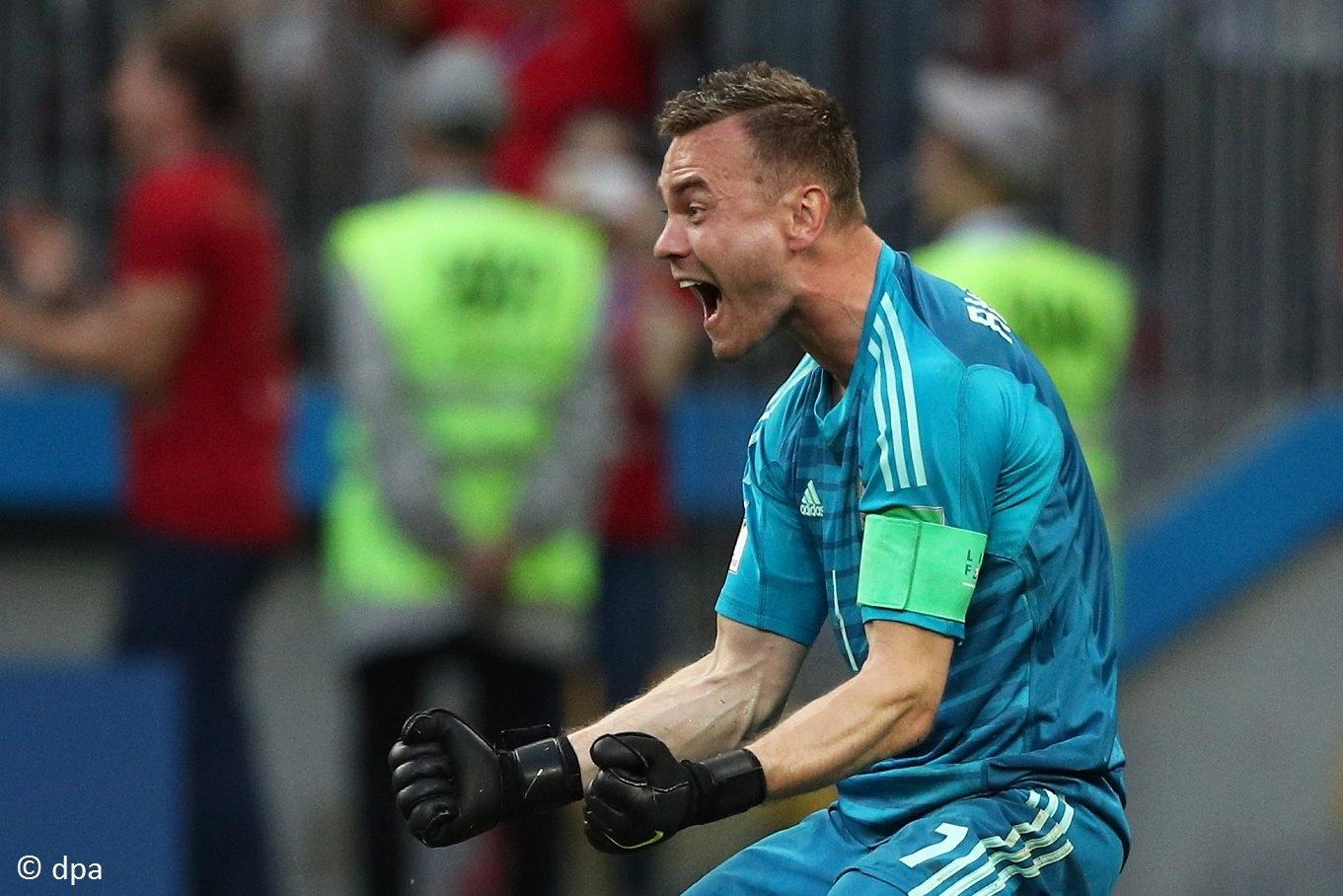 Сборная России вышла в 1/4 финала ЧМ в футболках из переработанных бутылок