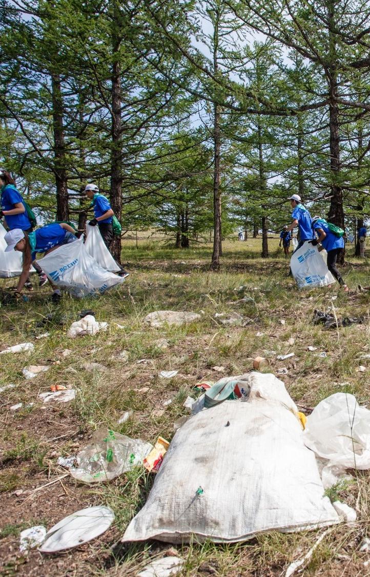 Волонтеры очистили 5 300 водоемов в 85 регионах страны