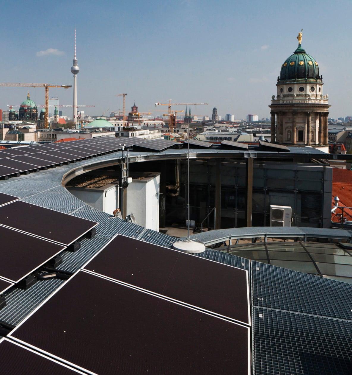 25% энергопотребности Берлина будут обеспечиваться за счет солнца