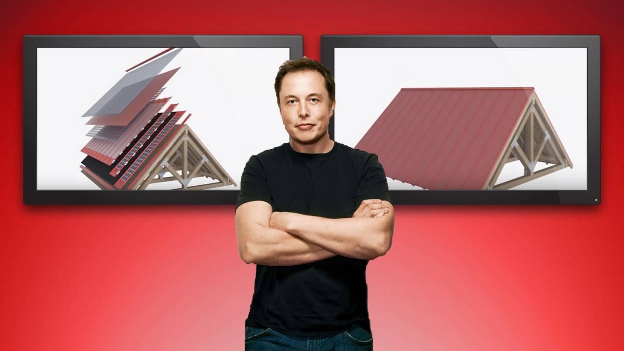 Основатель Tesla представил уникальные солнечные батареи