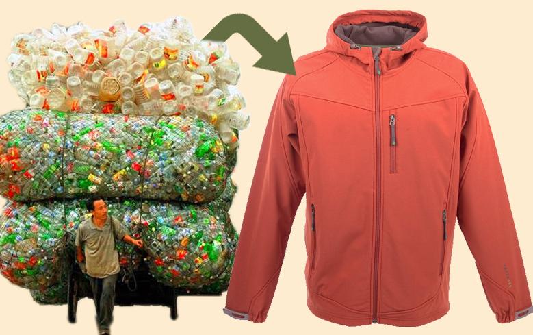Видео дня: как пластиковые бутылки превращаются в одежду?
