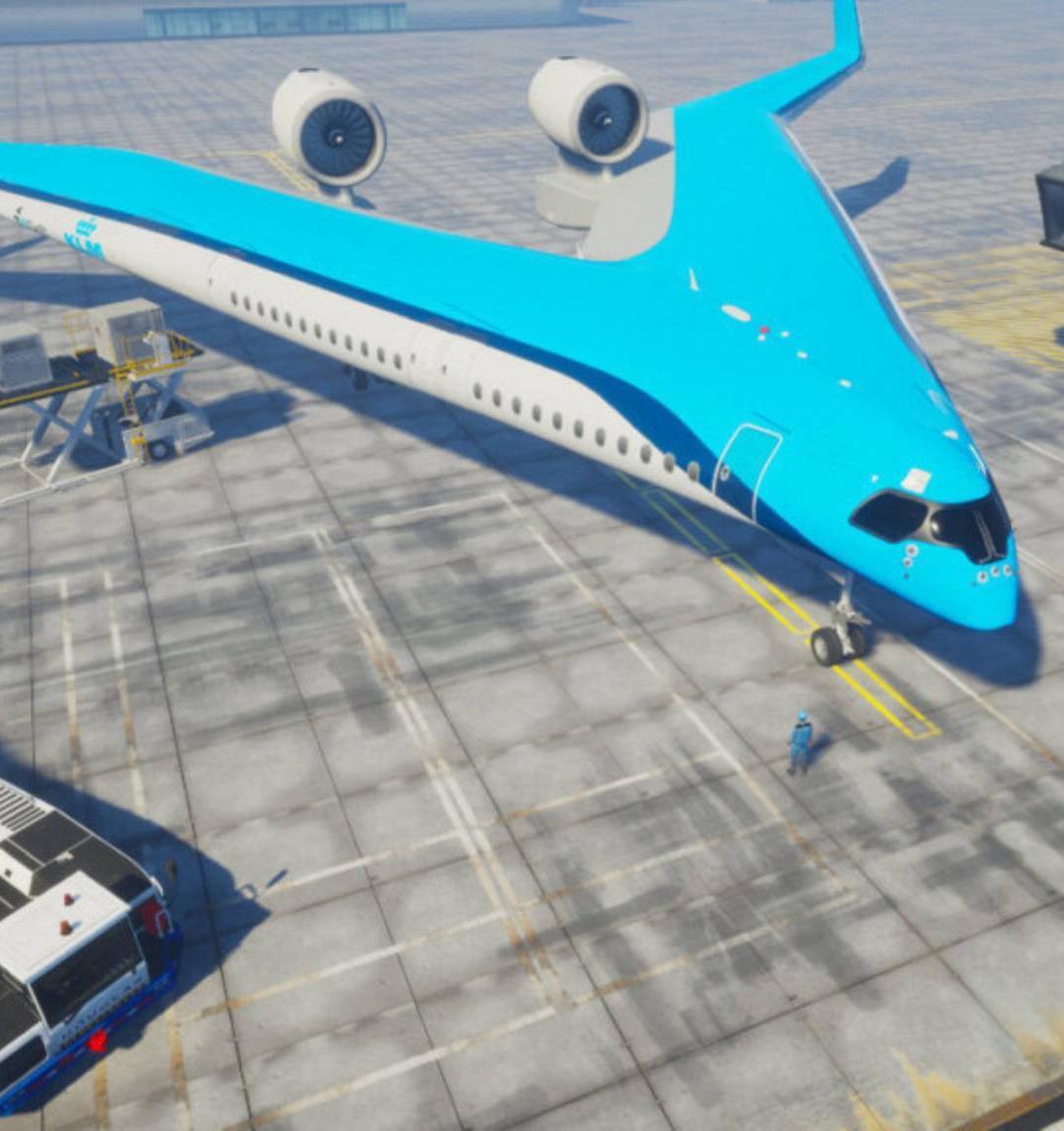 В Нидерландах разработали экологичный самолет