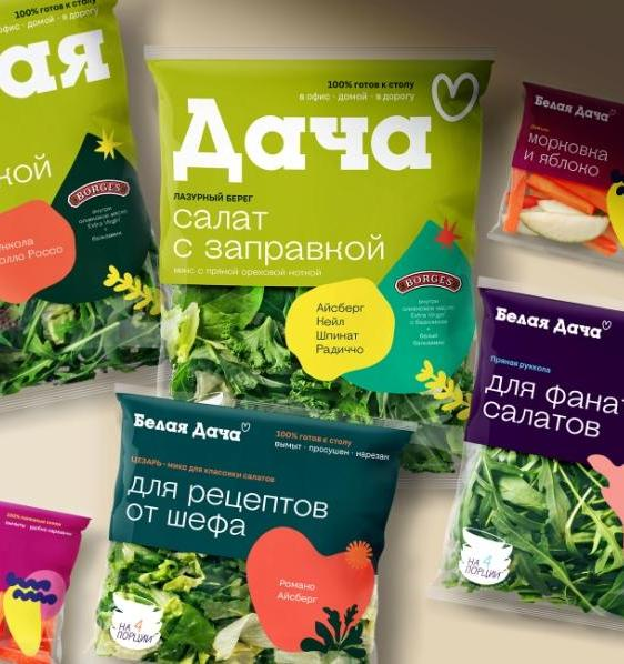 3 шага Белой Дачи к более экологичной упаковке салатов