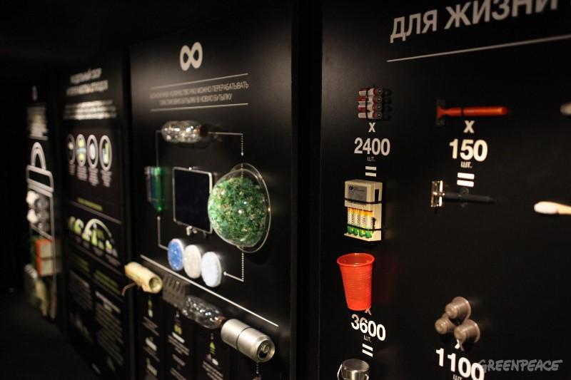 Передвижная выставка Гринпис «Ноль отходов» отправилась в турне по России