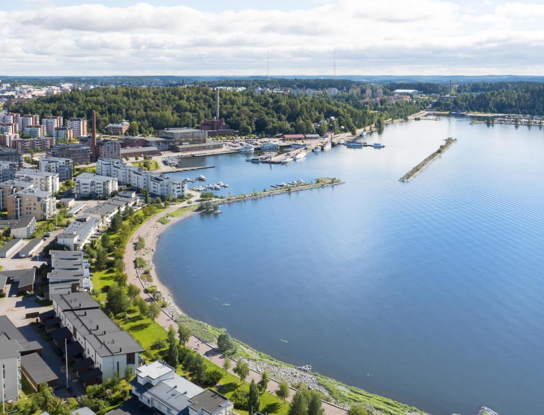 Финский город Лахти — новая Зеленая столицы Европы
