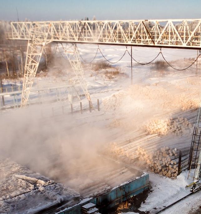 Завершен первый этап экологической модернизации комбината компании «Свеза»