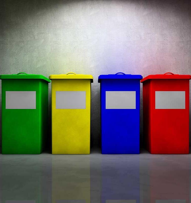 В школах Новосибирска вводят раздельный сбор мусора