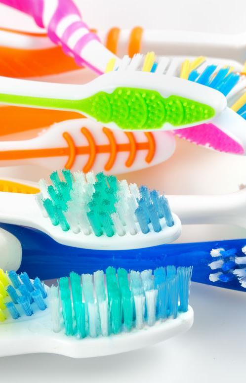 Начат эксперимент по сбору зубных щеток на переработку